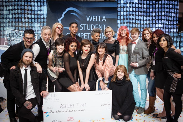 A Bellus Academy Student Wins Gold in the Wella Student Competition!
